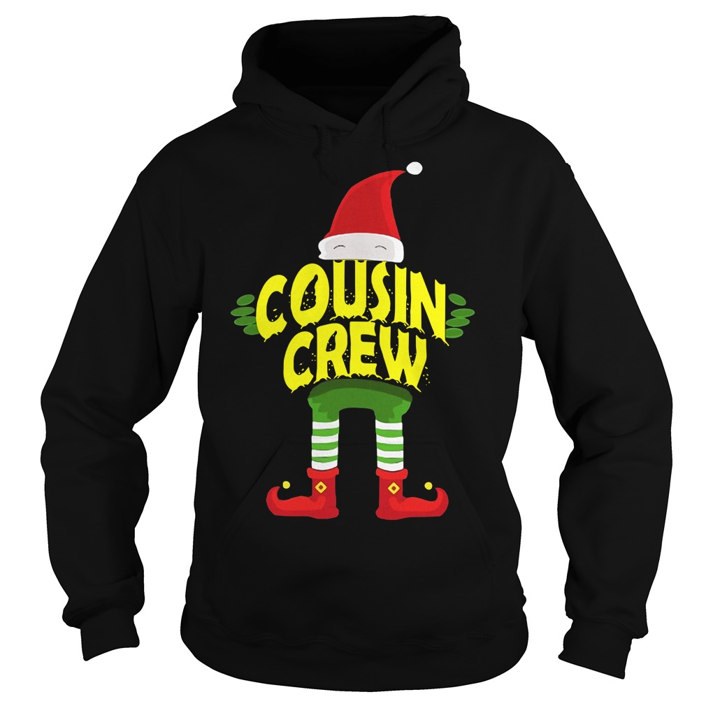 Elf Cousin Crew Christmas Hoodie