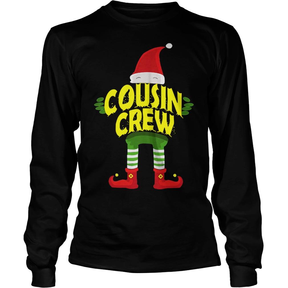 Elf Cousin Crew Christmas Longsleeve Tee