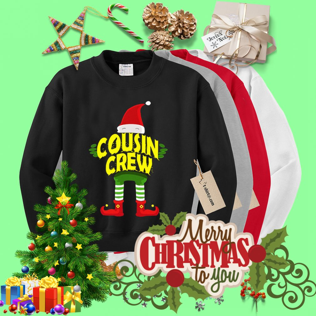 Elf Cousin Crew Christmas shirt, sweater