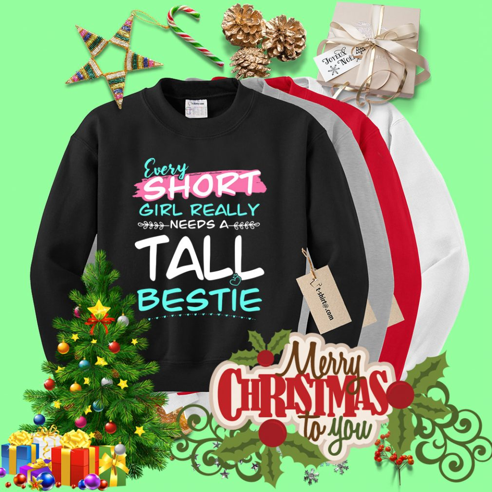 Every short girl really needs a tall bestie Sweater