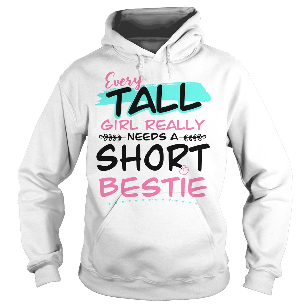 Every tall girl really needs a short bestie Hoodie