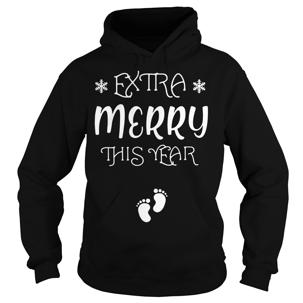 Extra Merry this year Christmas Hoodie