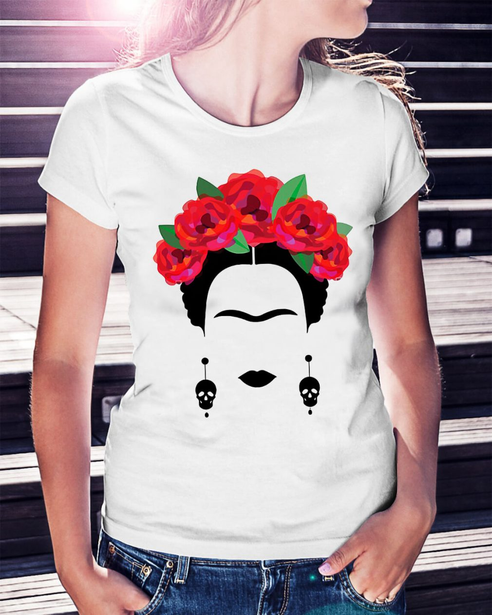 Feminist Frida Kahlo Ladies Tee