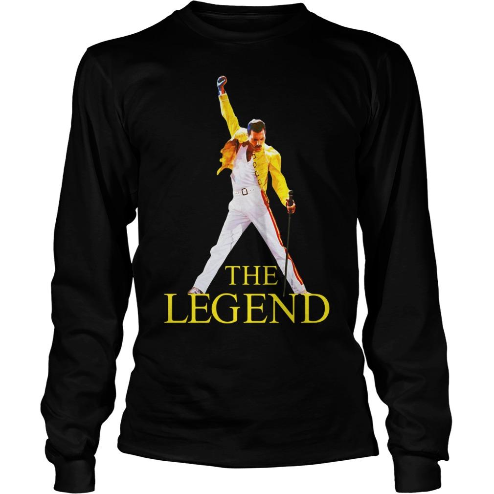 Freddie Purrcury queen the legend Longsleeve Tee