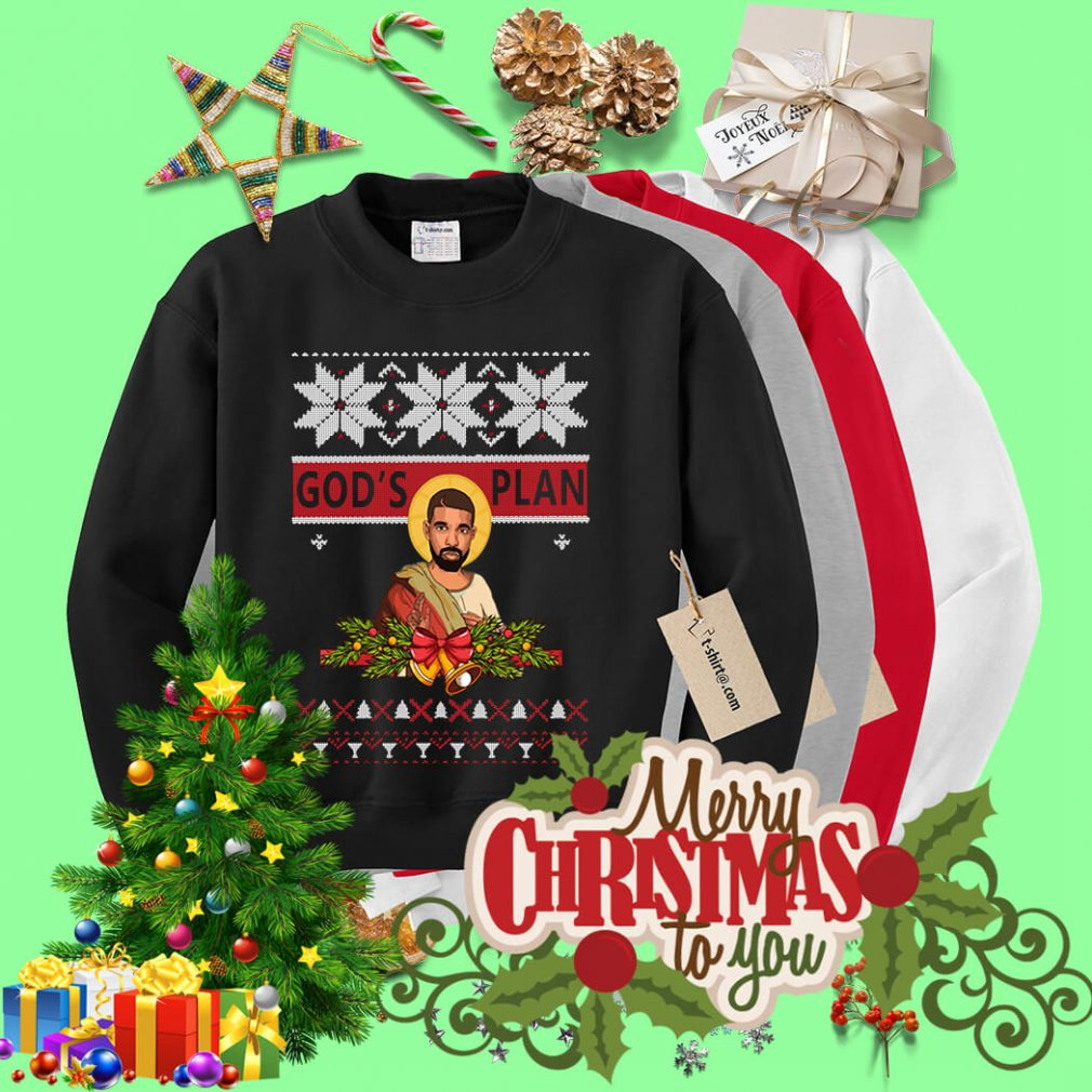 God's plan ugly Christmas sweater