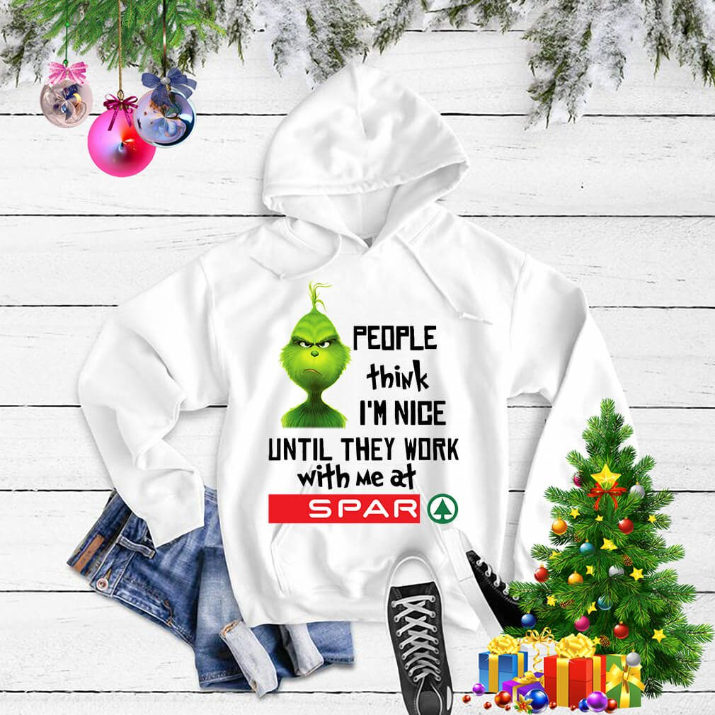 Grinch people think I'm nice until they work with me at Spar Sweater