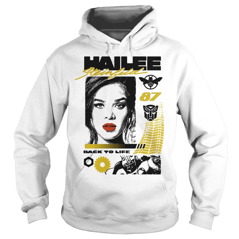 Hailee Steinfeld 87 back to life Hoodie