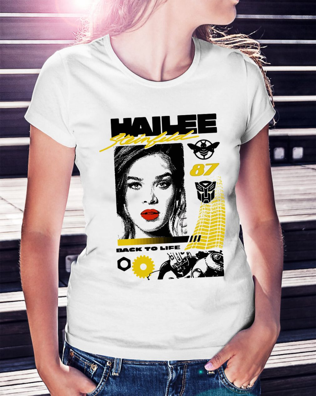 Hailee Steinfeld 87 back to life Ladies Tee