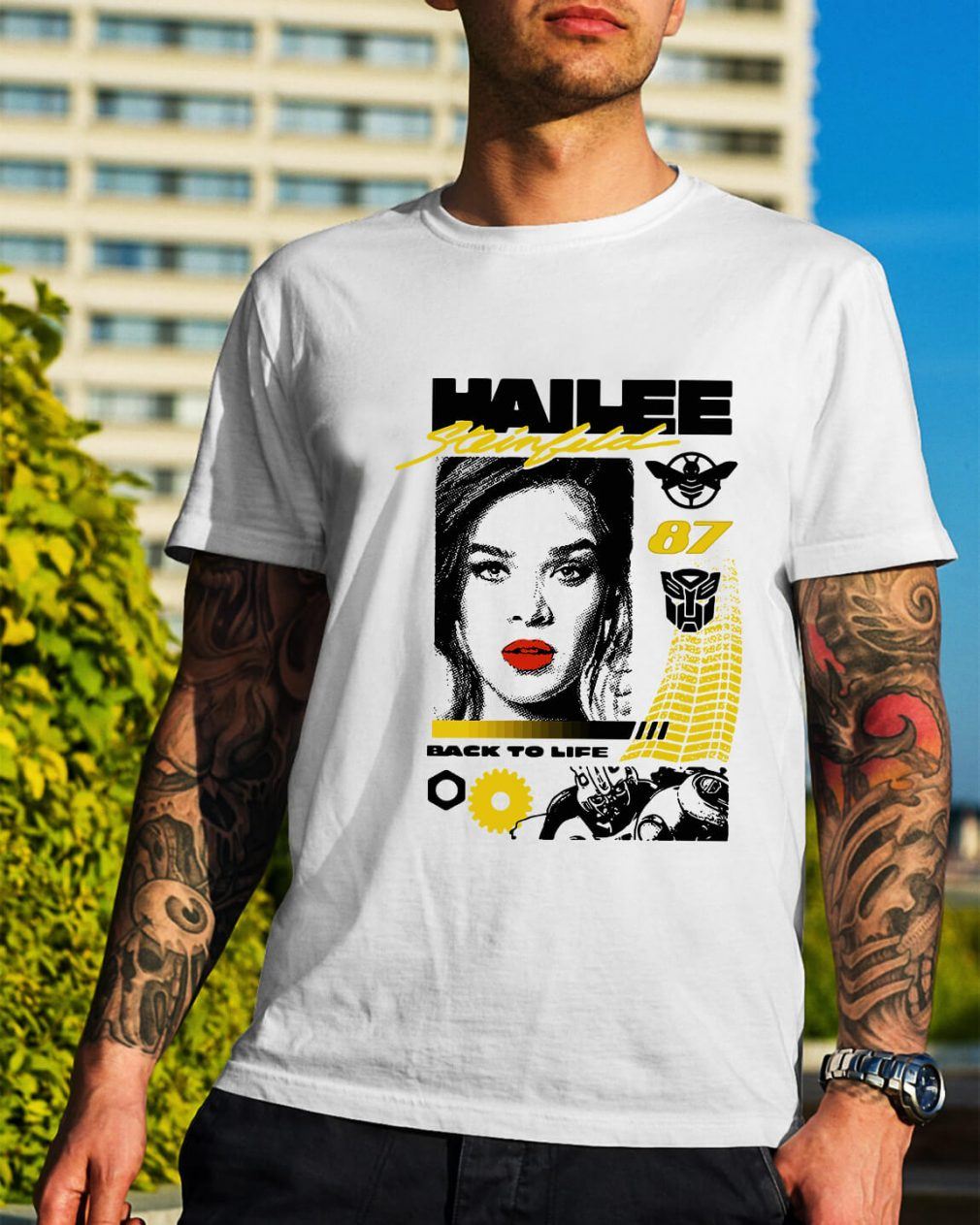Hailee Steinfeld 87 back to life shirt