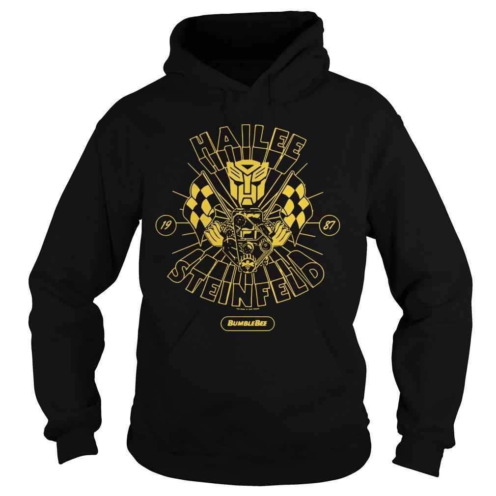 Hailee Steinfeld Bumblebee Transformers New small Promo Hoodie