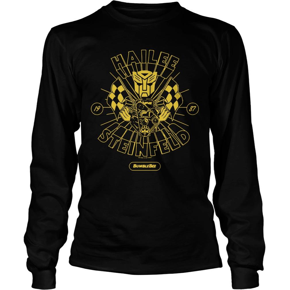 Hailee Steinfeld Bumblebee Transformers New small Promo Longsleeve Tee
