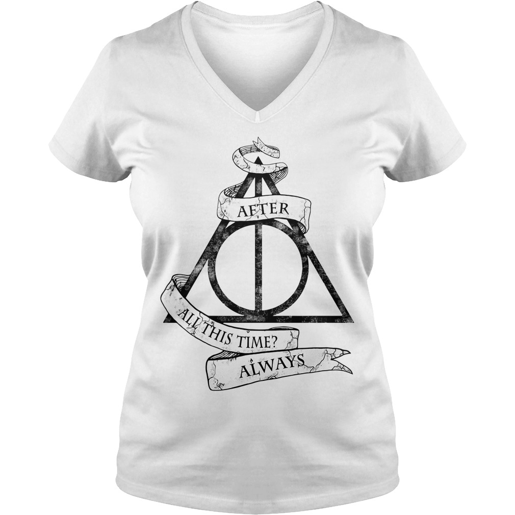 Harry Potter after all this time always V-neck T-shirt