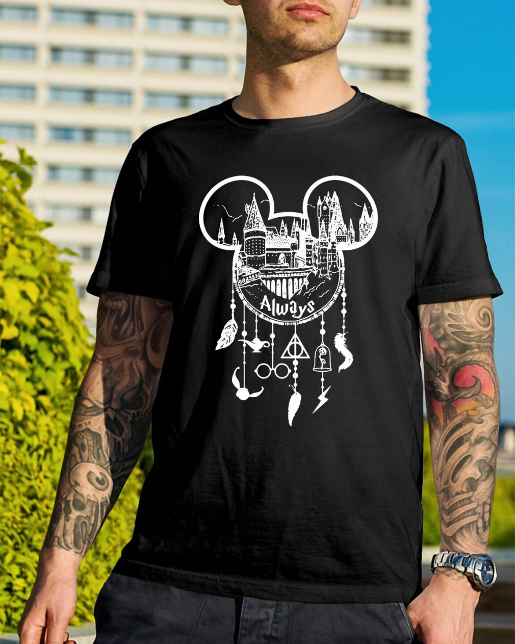 Harry Potter Always Mickey Mouse dream catcher shirt