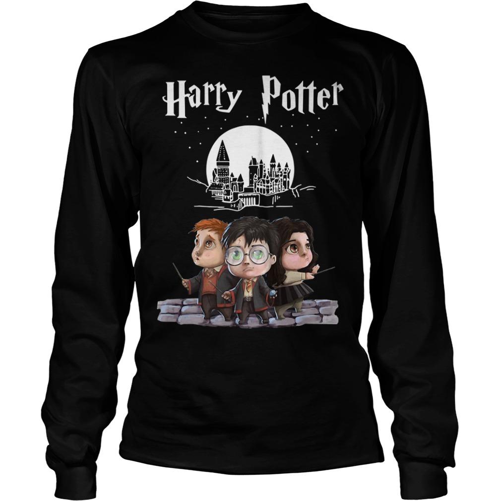 Harry Potter chibi Longsleeve Tee