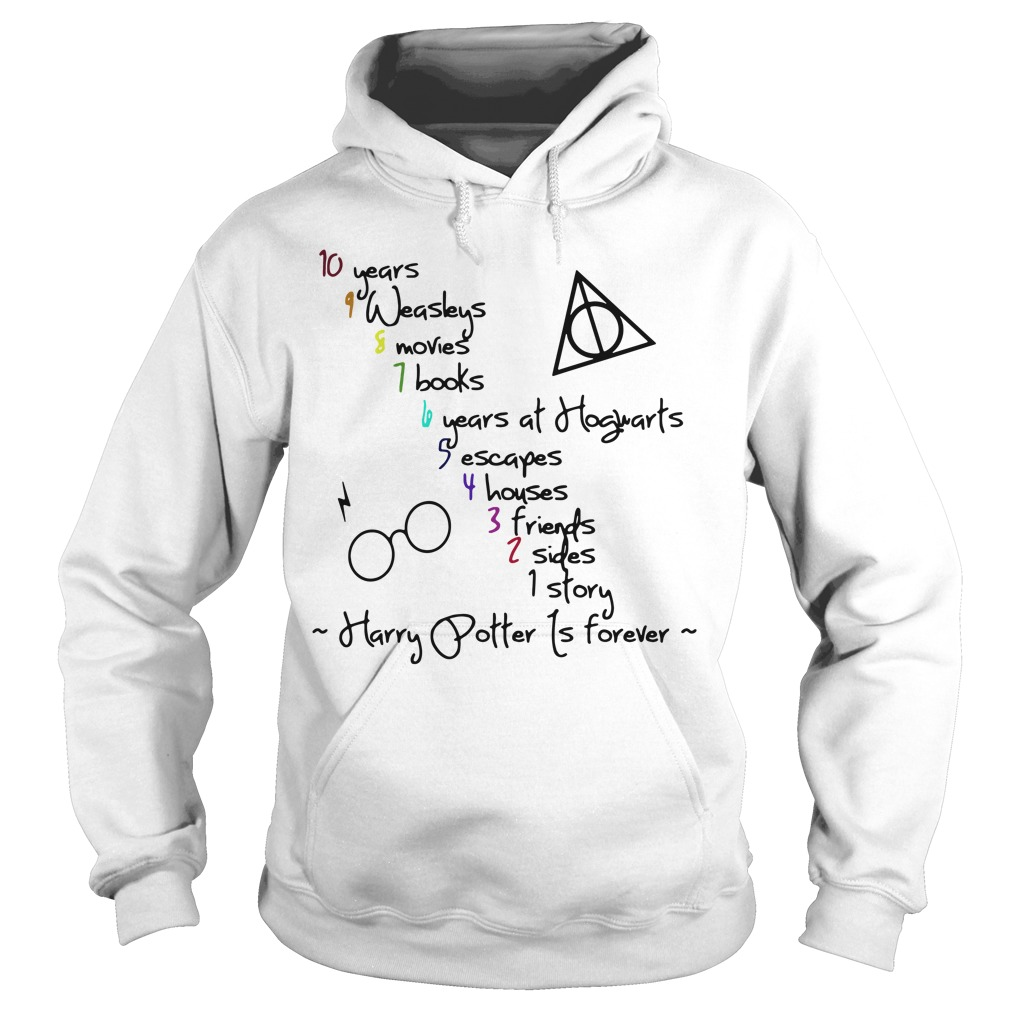 Harry Potter is forever Hoodie