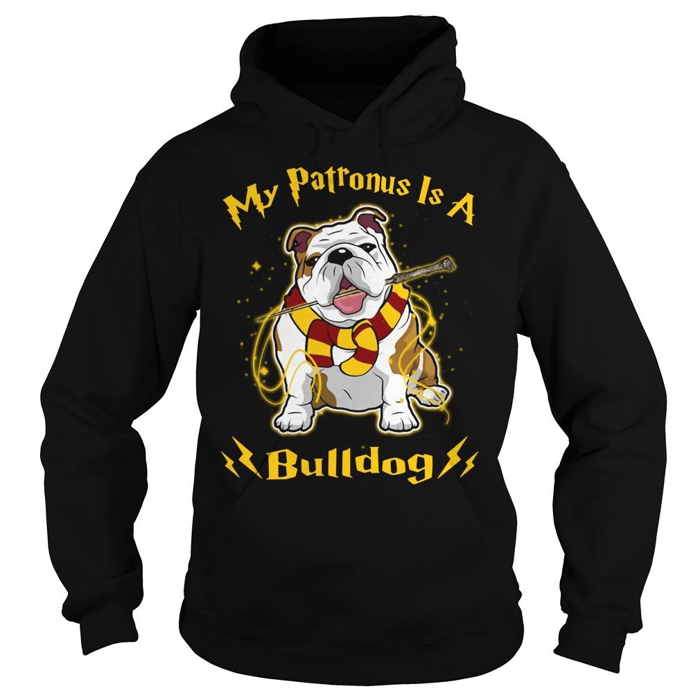Harry Potter my Patronus is a Bulldog Hoodie