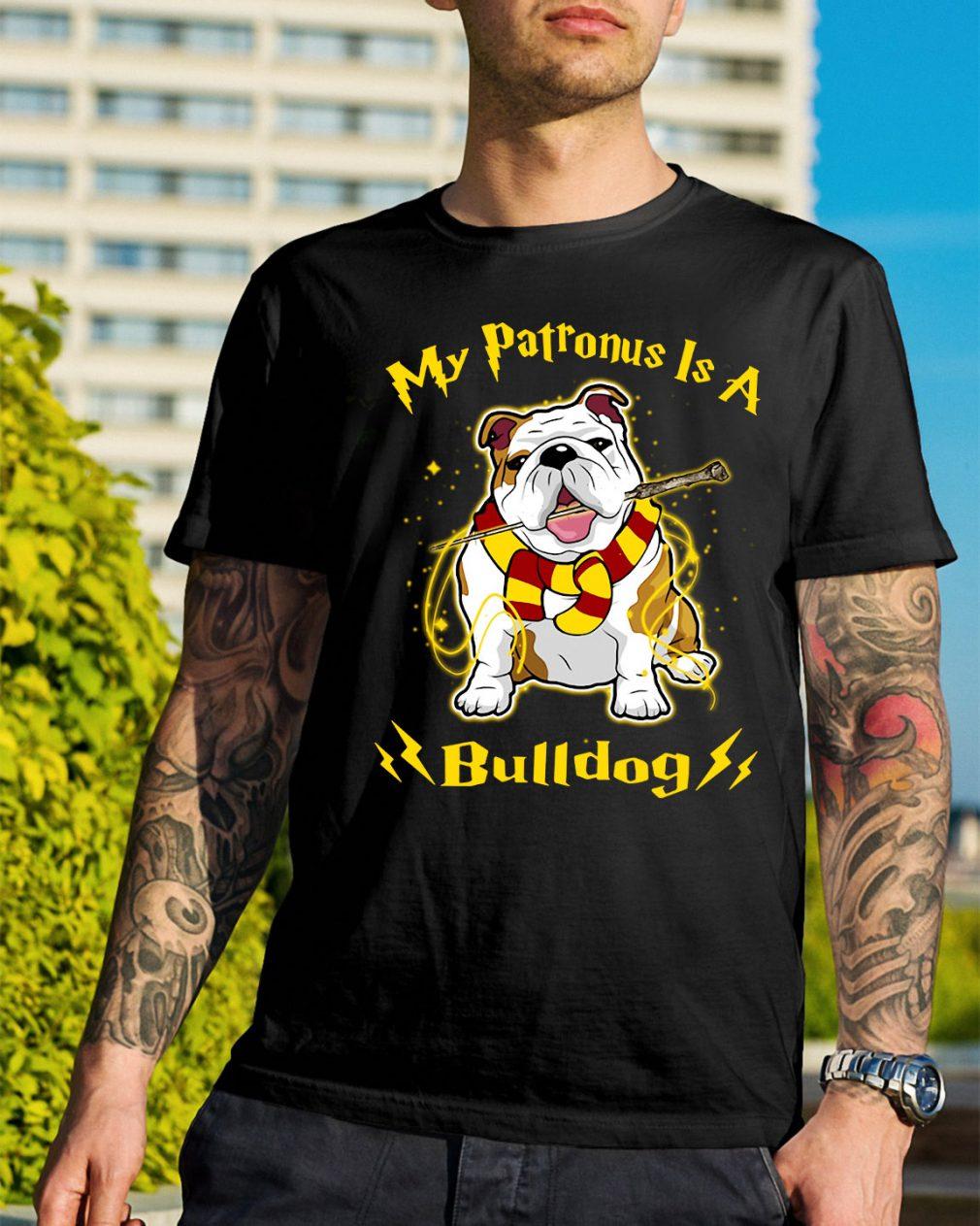 Harry Potter my Patronus is a Bulldog shirt