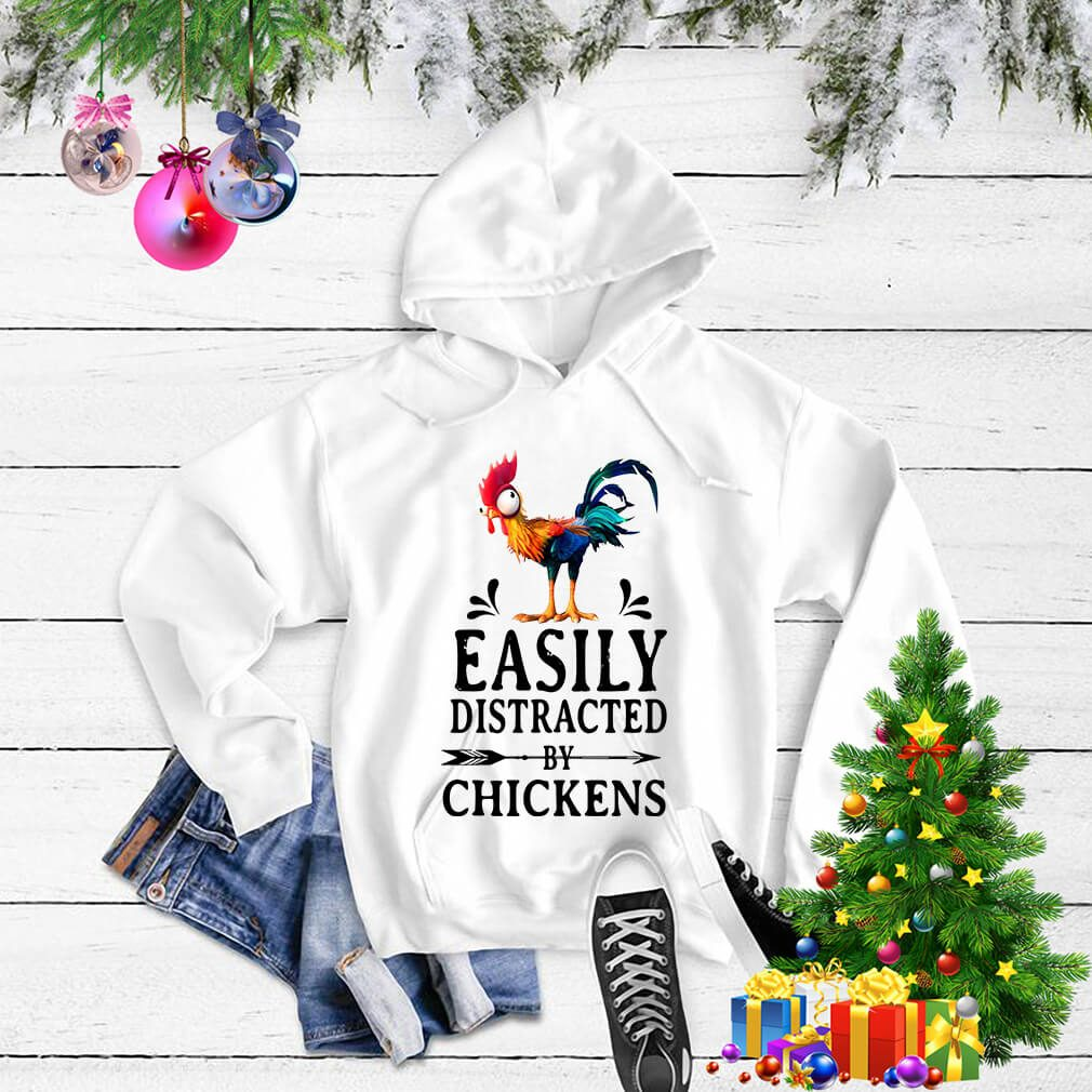 Hei Hei easily distracted by Chickens Sweater
