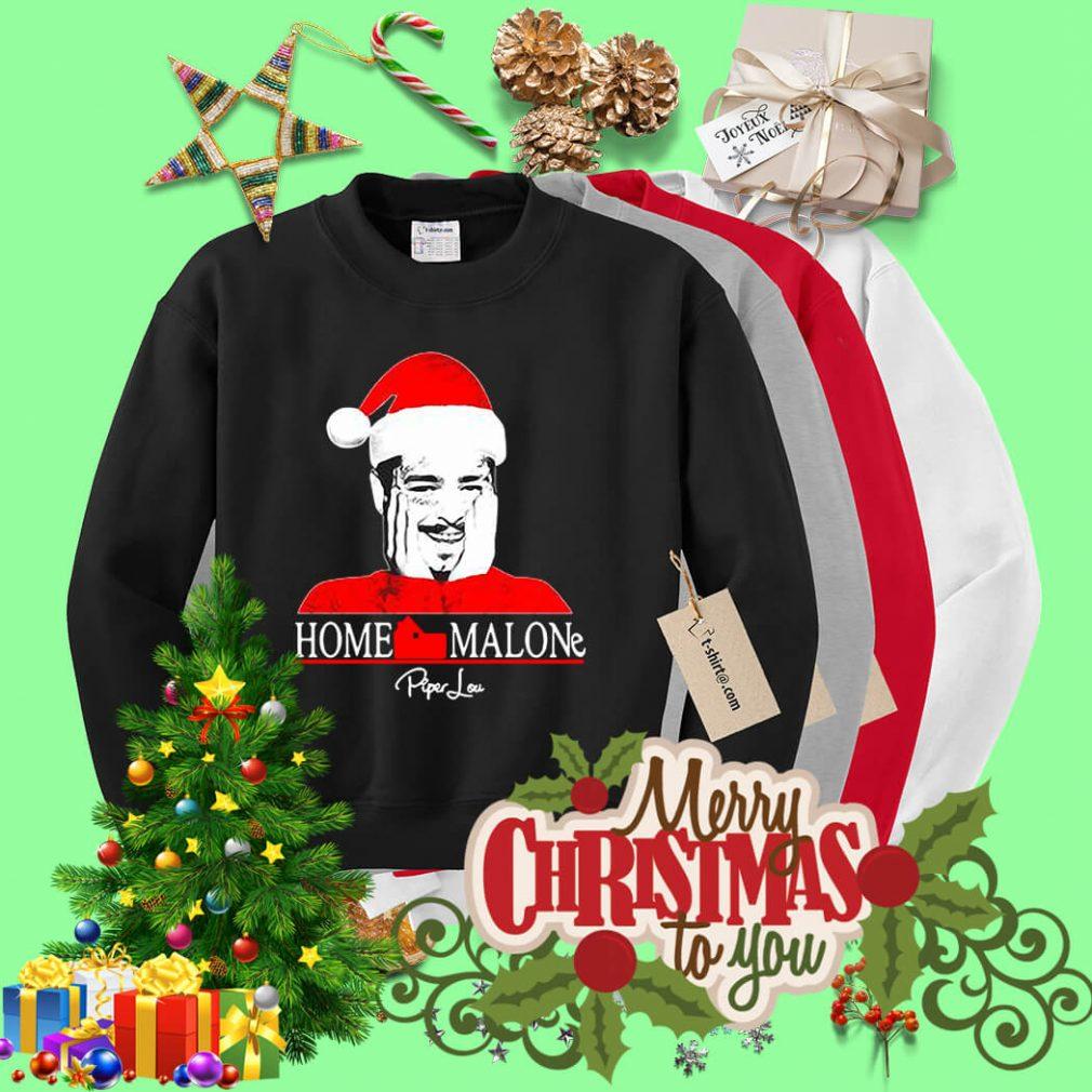 Home Malone Post Malone Santa Christmas shirt, sweater