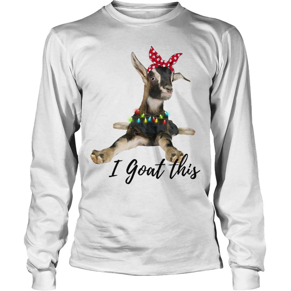 I Goat this Christmas light Longsleeve Tee