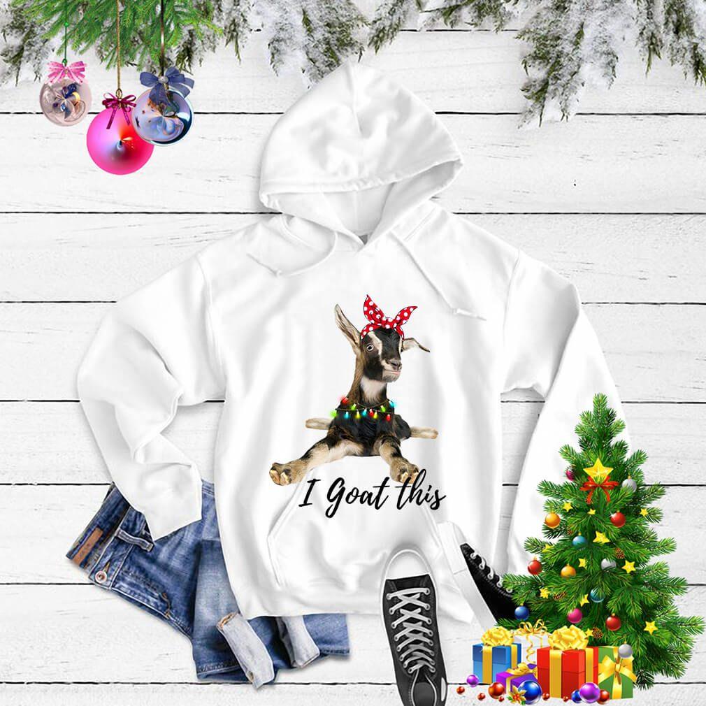 I Goat this Christmas light shirt, sweater