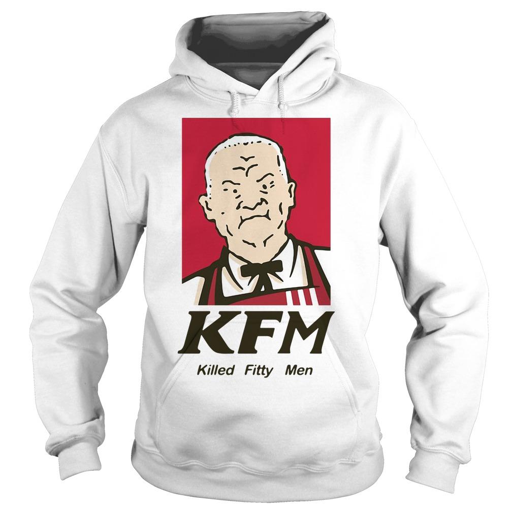 KFM killed fitty men Hoodie