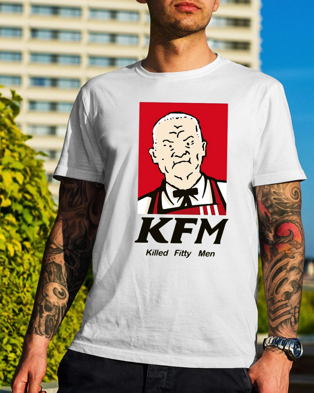 KFM killed fitty men shirt