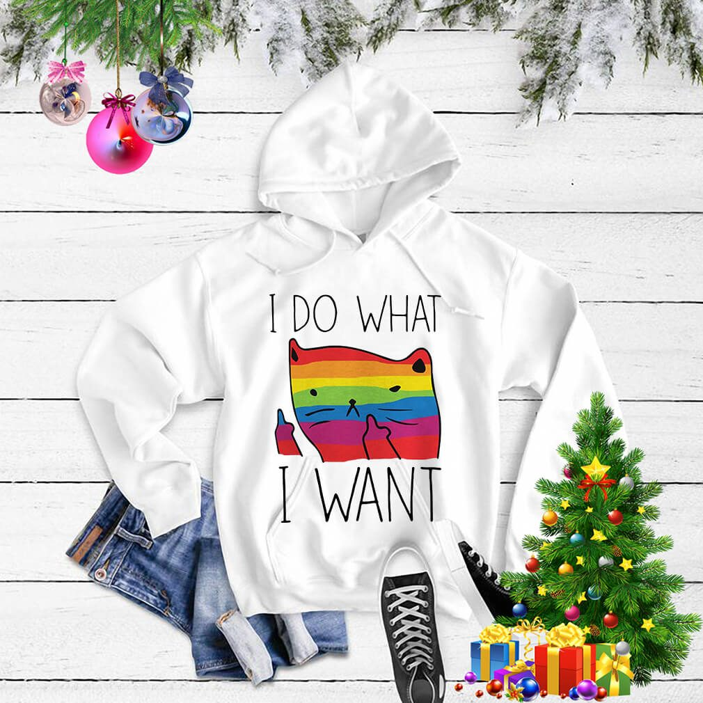 LGBT cat I do what I want Sweater