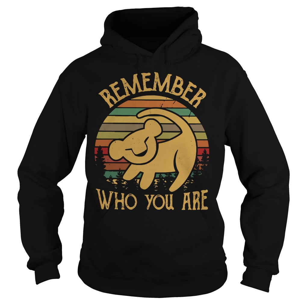 Lion King remember who you are Hoodie