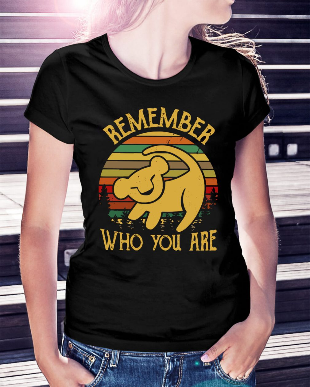 Lion King remember who you are Ladies Tee