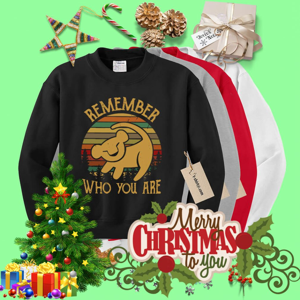 Lion King remember who you are Sweater