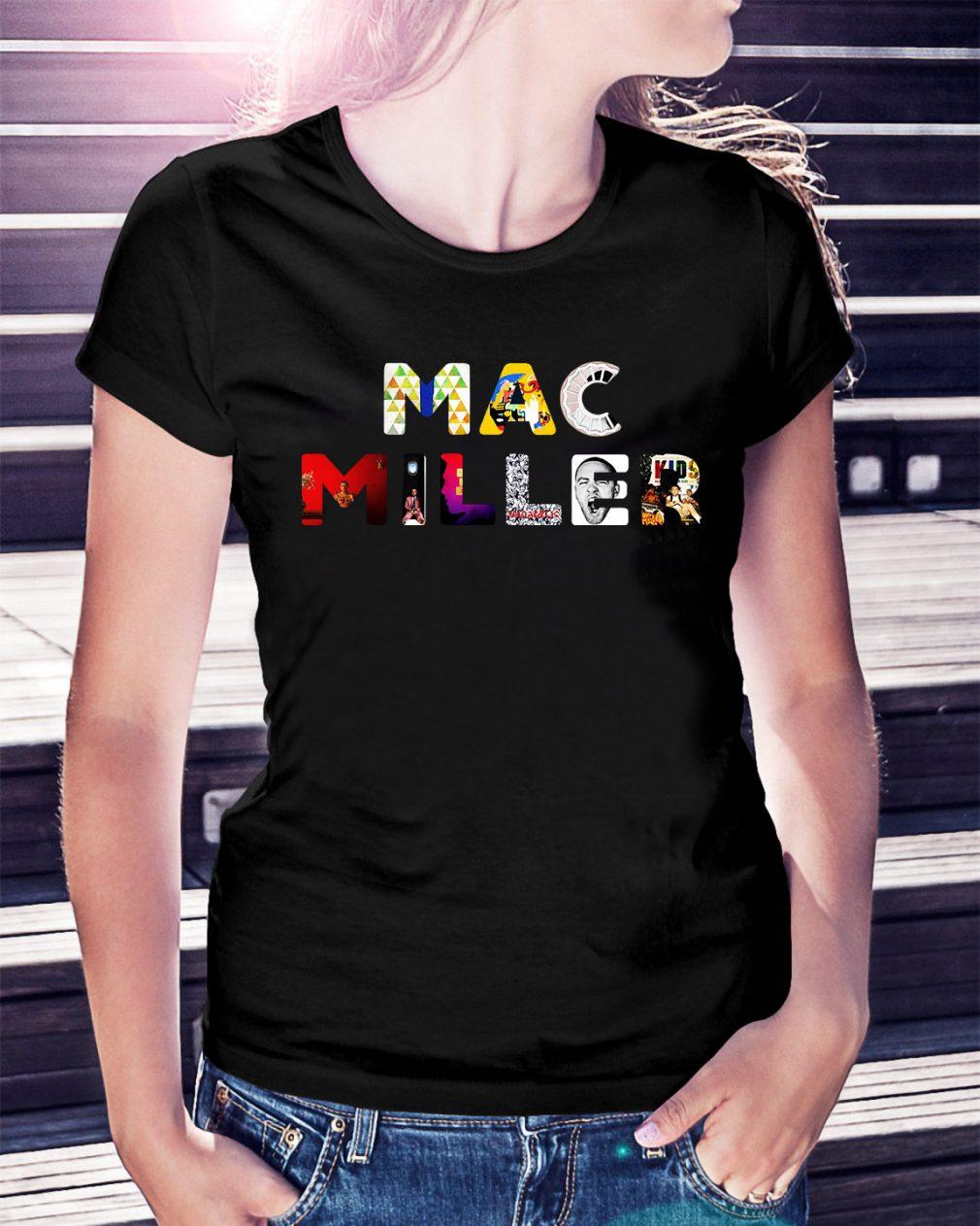 Mac Miller keep your memories alive all album Ladies Tee