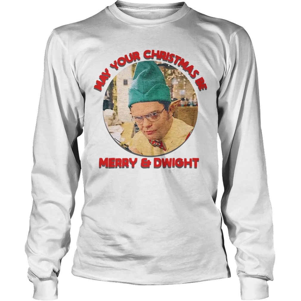 May your Christmas be Merry and Bright Longsleeve Tee