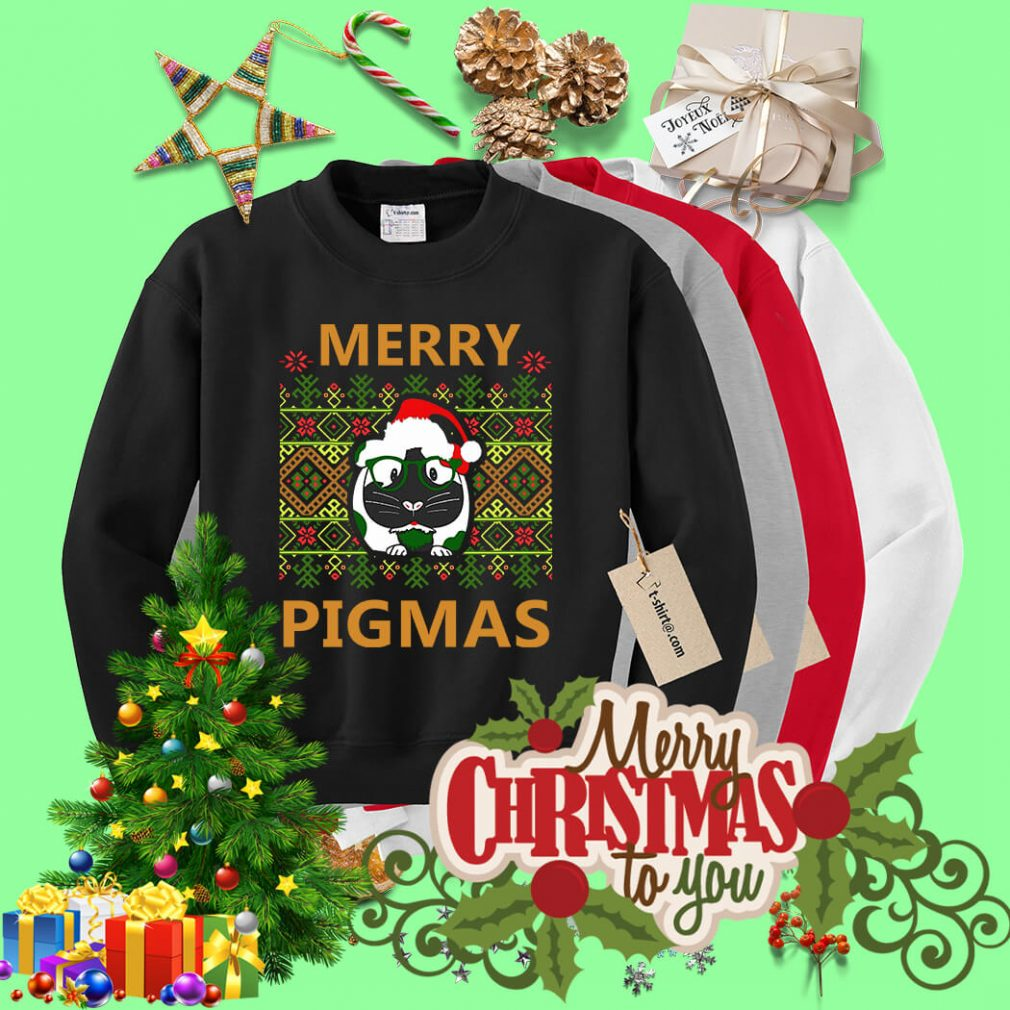 Merry Pigmas Christmas ugly sweater