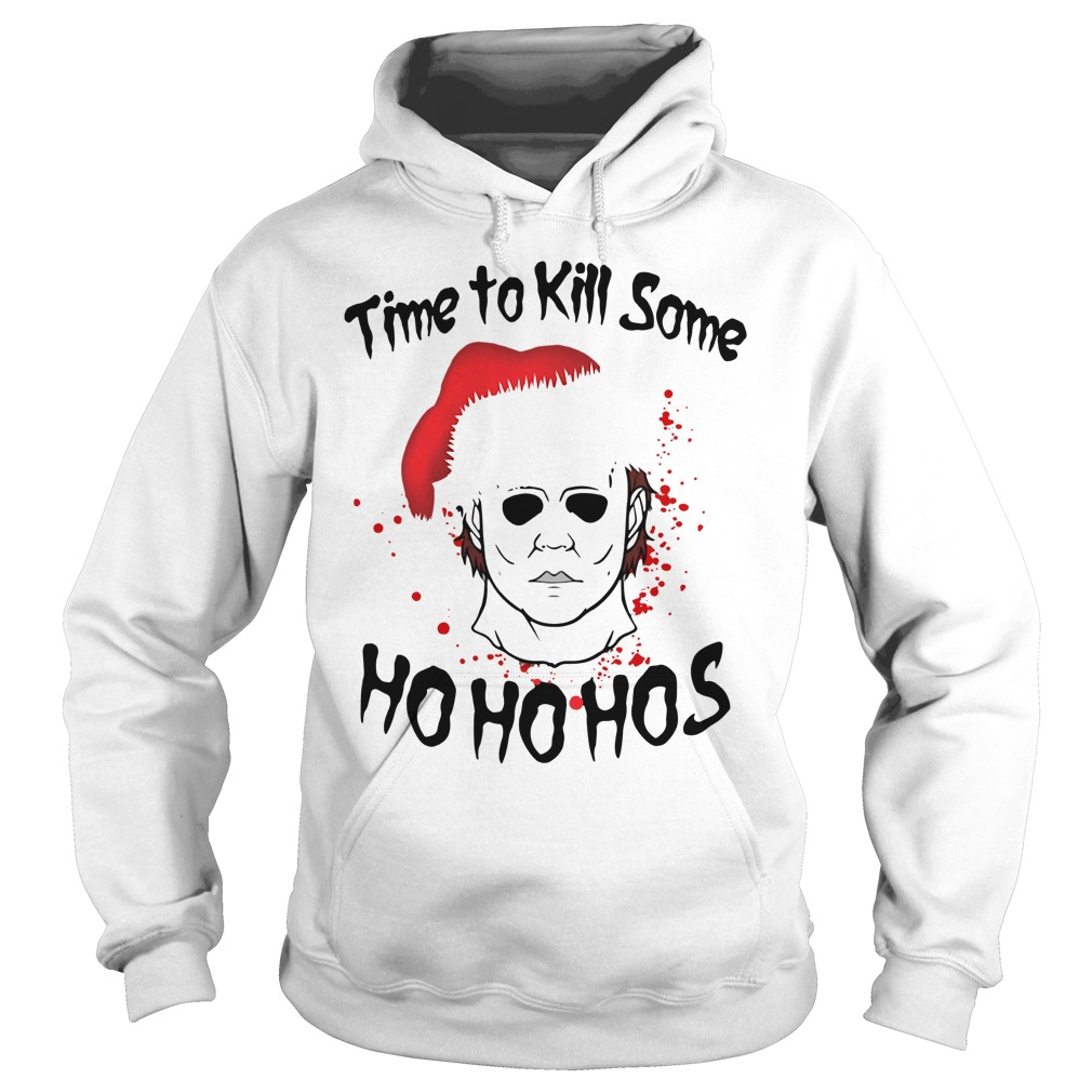 Michael Myers time to kill some Ho ho hos Christmas Hoodie