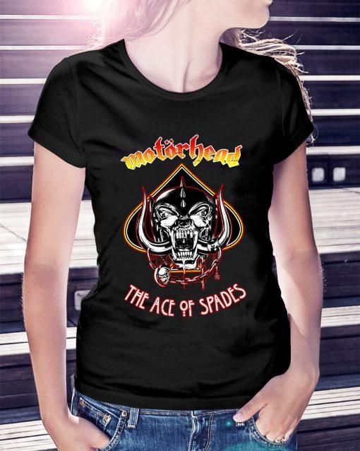 Motorhead Ace of Spades Ladies Tee