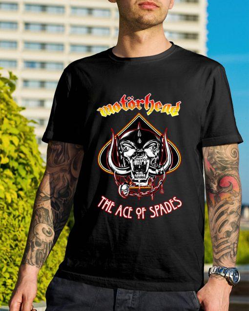 Motorhead Ace of Spades shirt