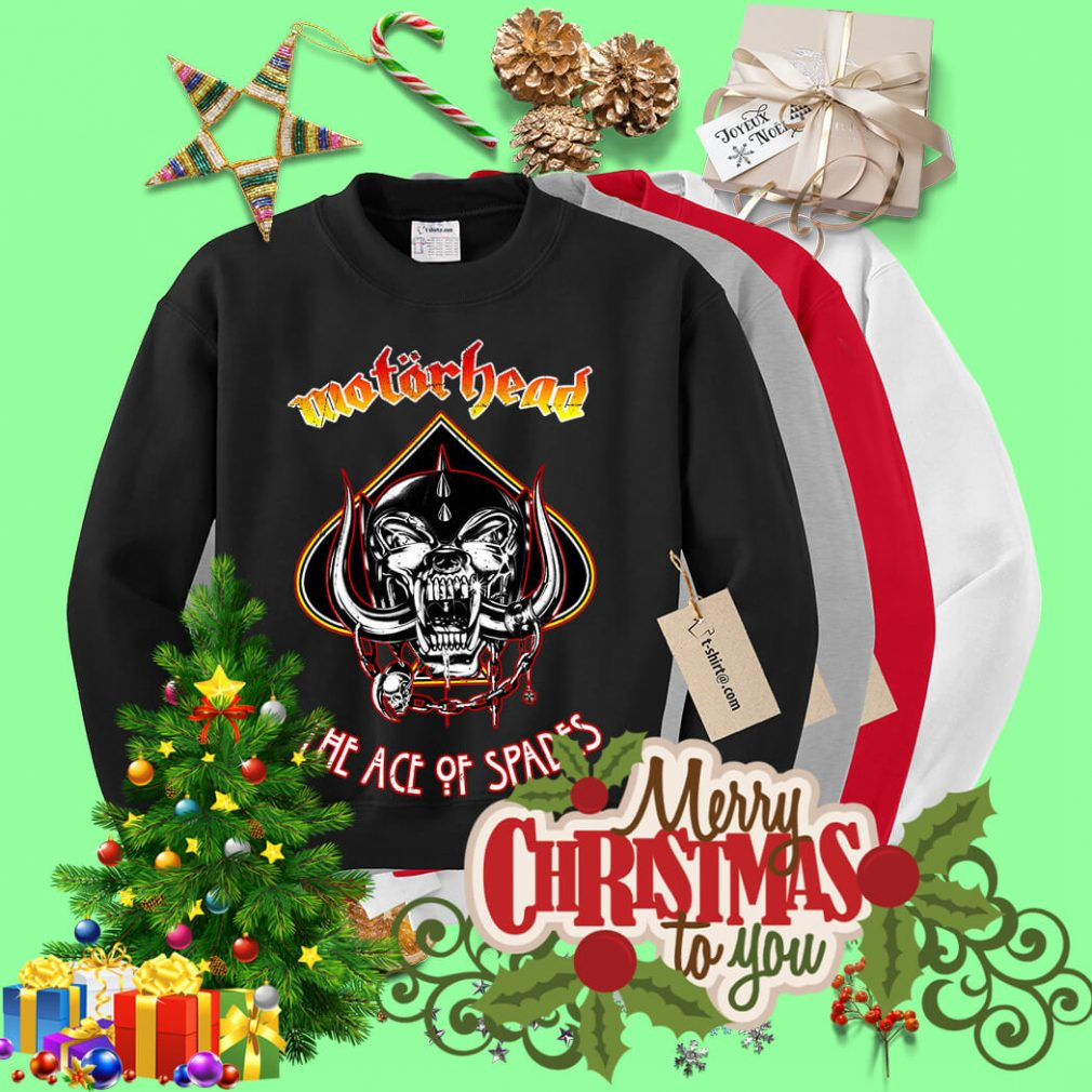 Motorhead Ace of Spades Sweater