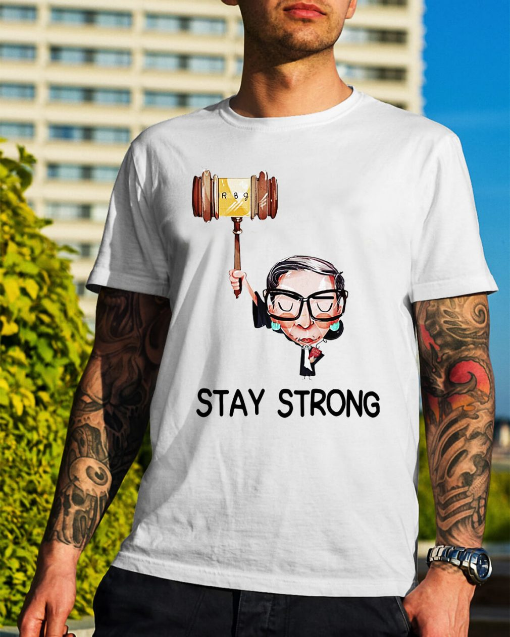 Notorious RBG stay strong shirt