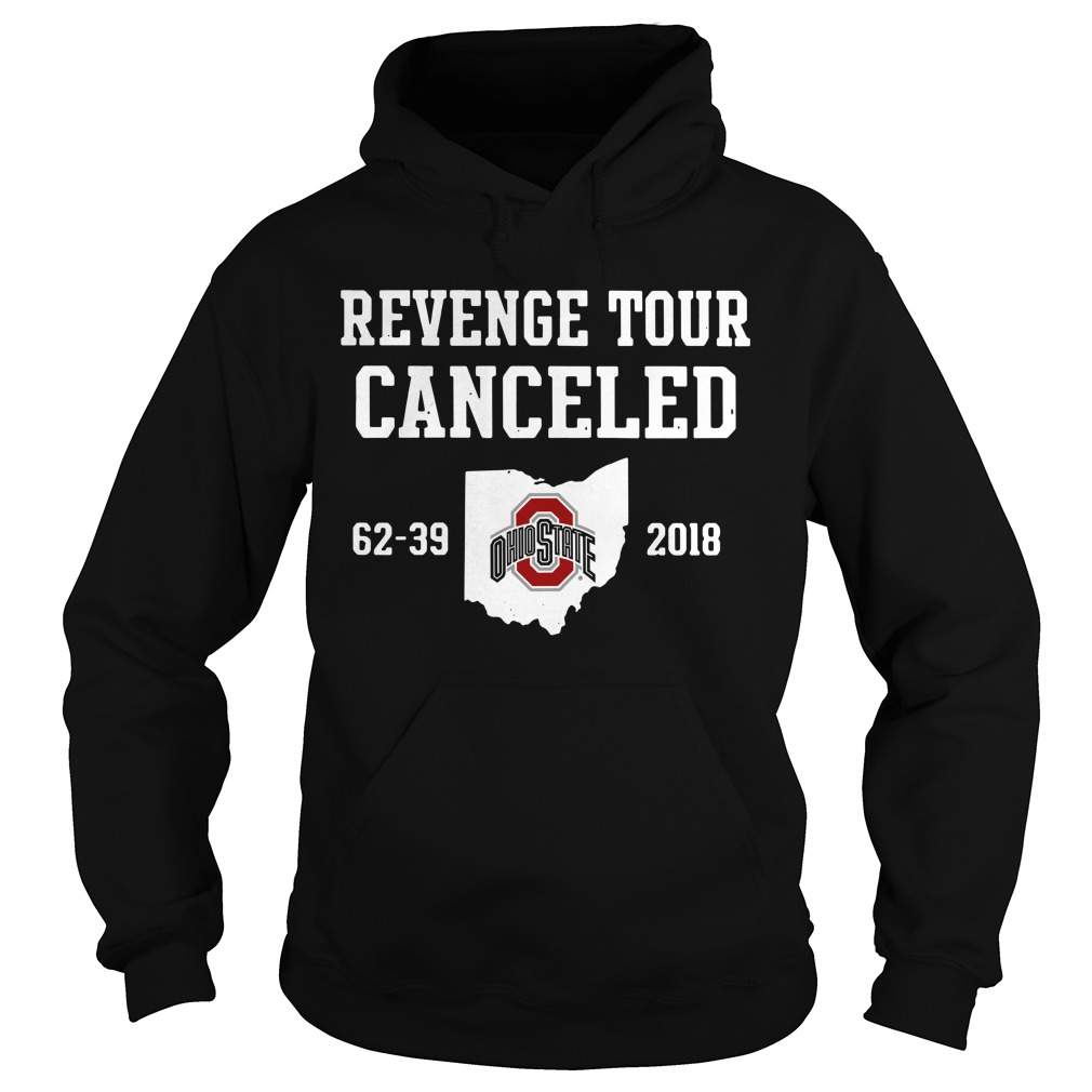 Ohio State Revenge tour Cancelled Hoodie