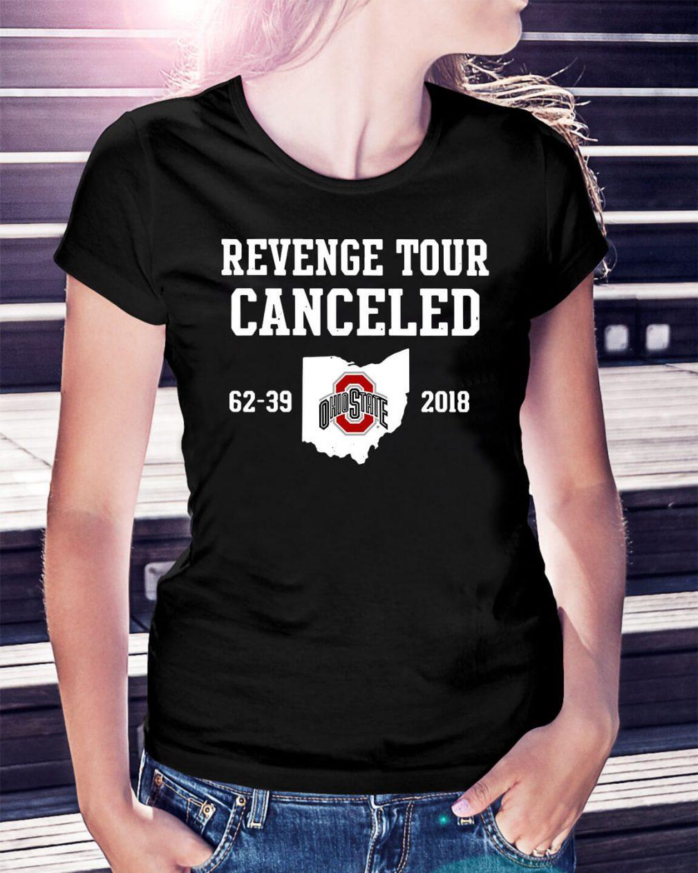 Ohio State Revenge tour Cancelled Ladies Tee