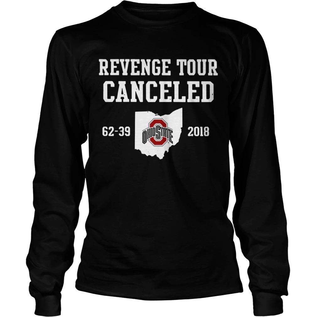 Ohio State Revenge tour Cancelled Longsleeve Tee