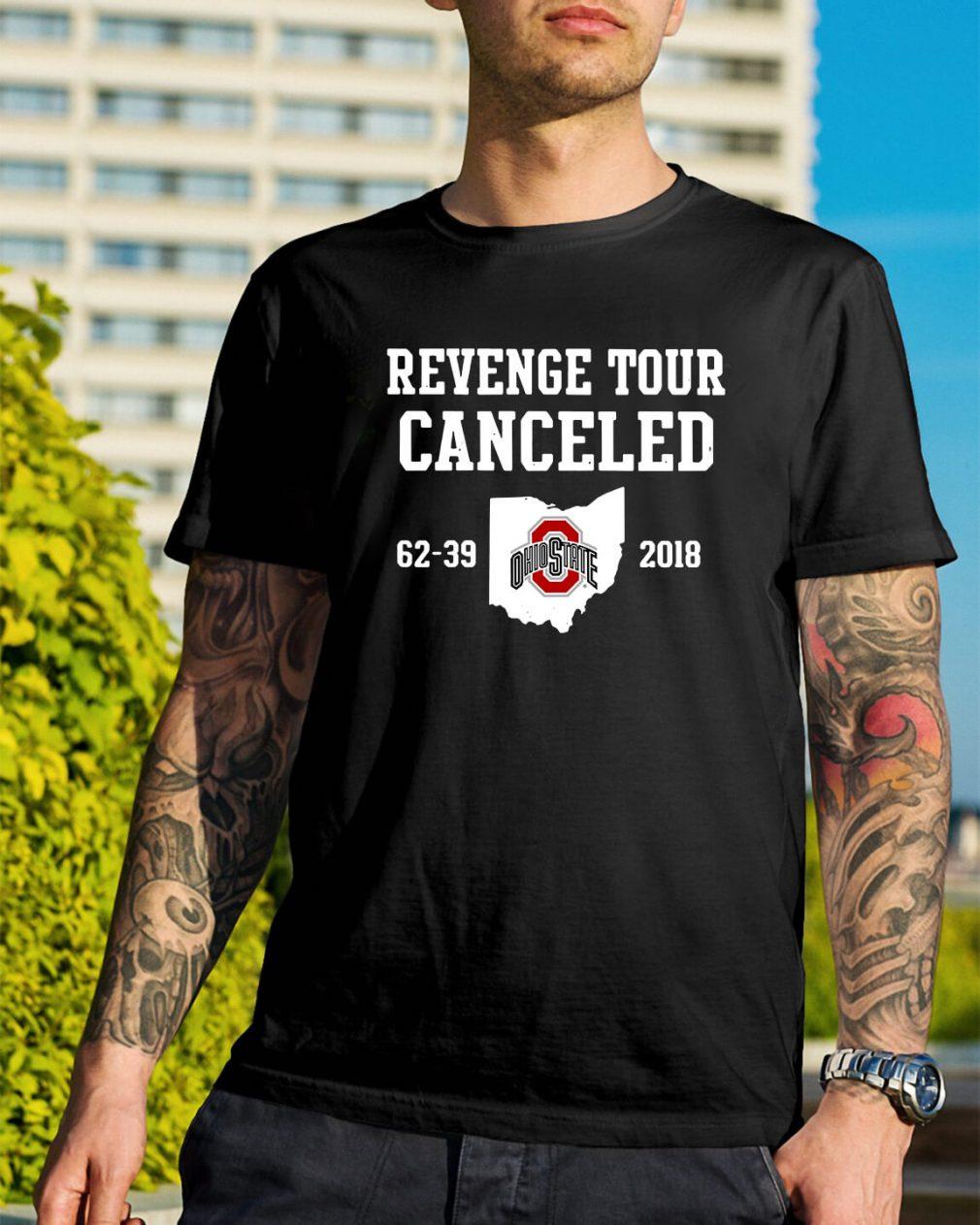 Ohio State Revenge tour Cancelled shirt
