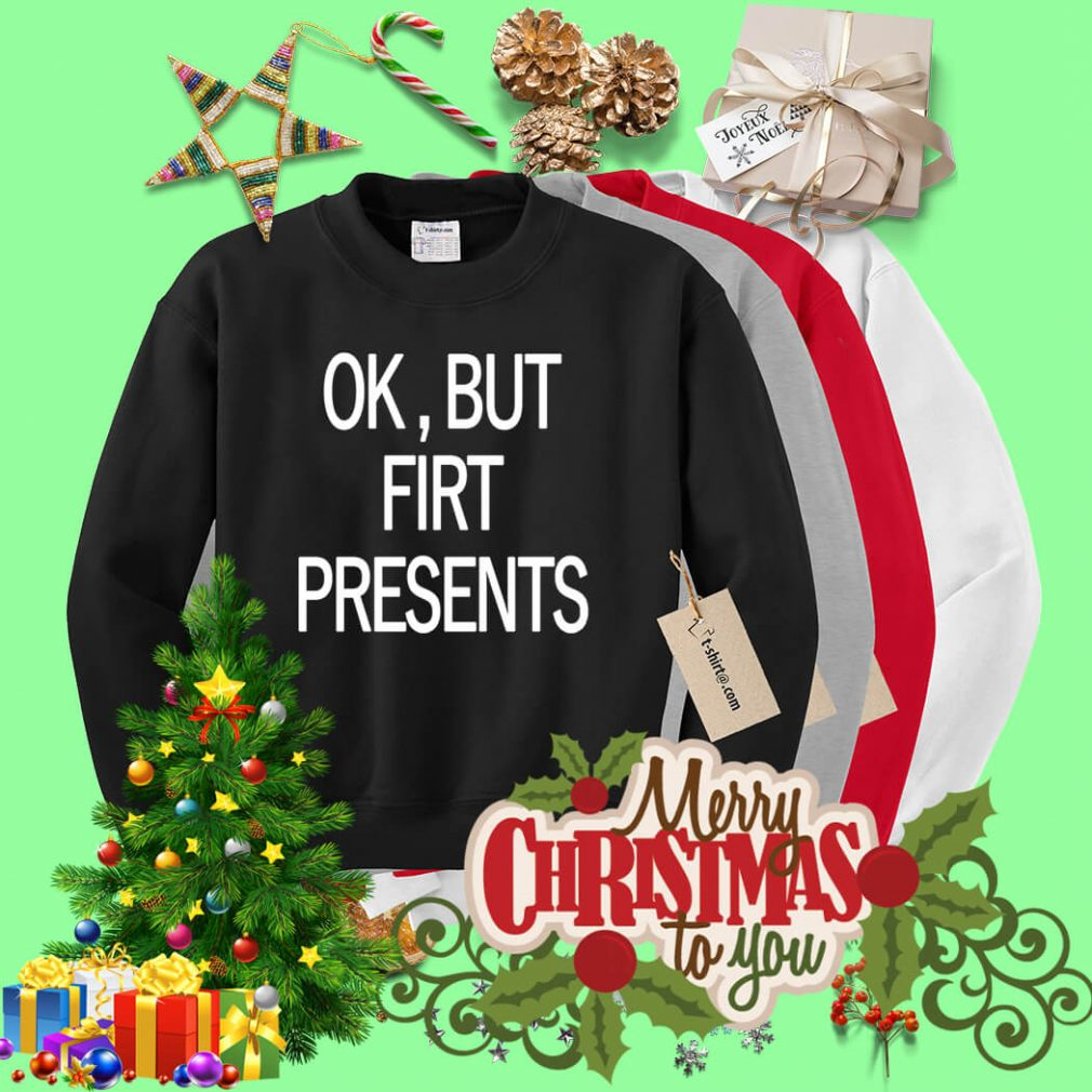 Ok but first presents Sweater
