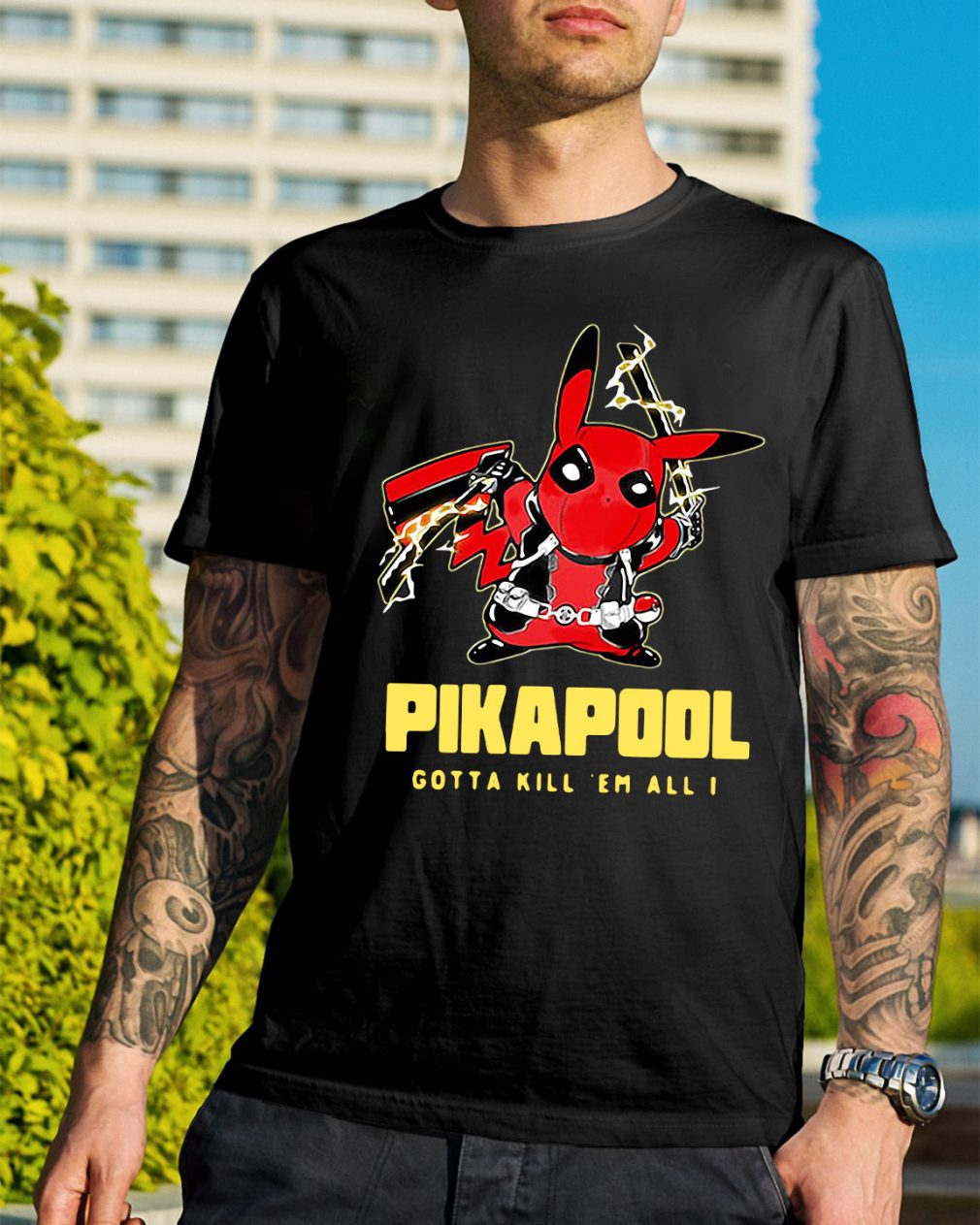Pikapool gotta kill 'em all I shirt