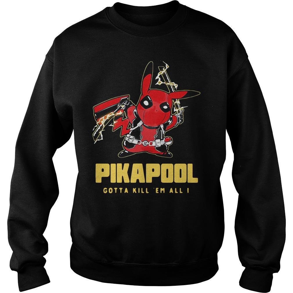Pikapool gotta kill 'em all I Longsleeve Tee
