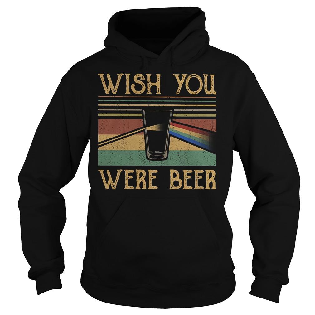 Pink Floyd vintage wish you were beer Hoodie