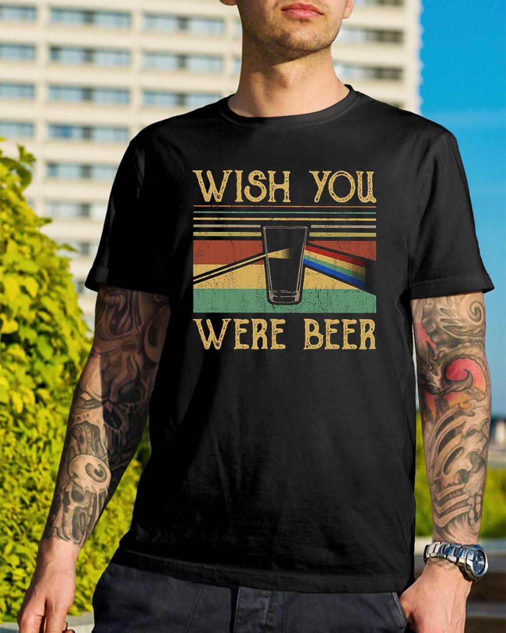 Pink Floyd vintage wish you were beer shirt