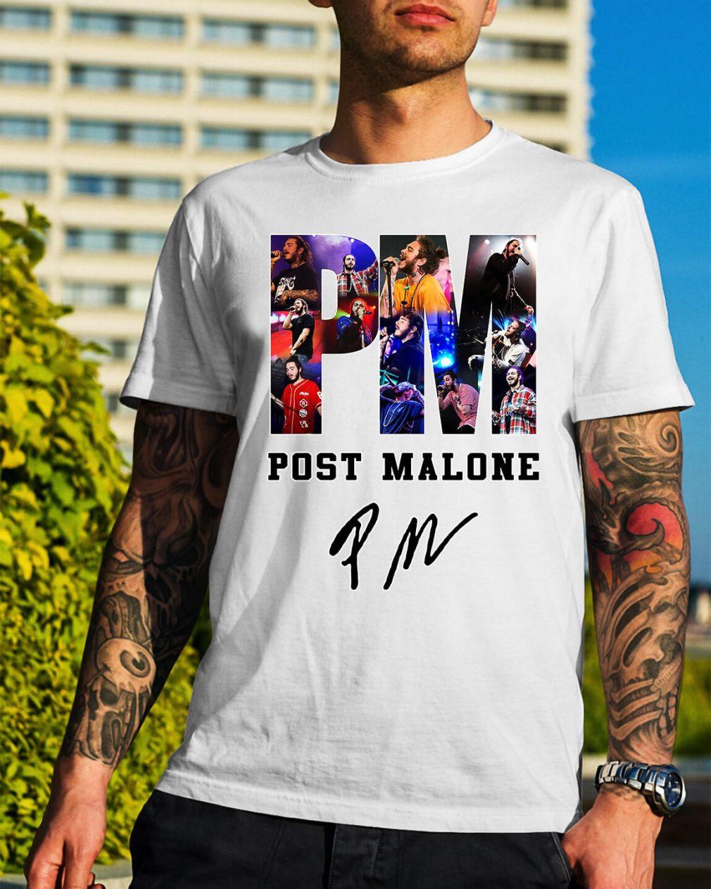 PM Post Malone shirt