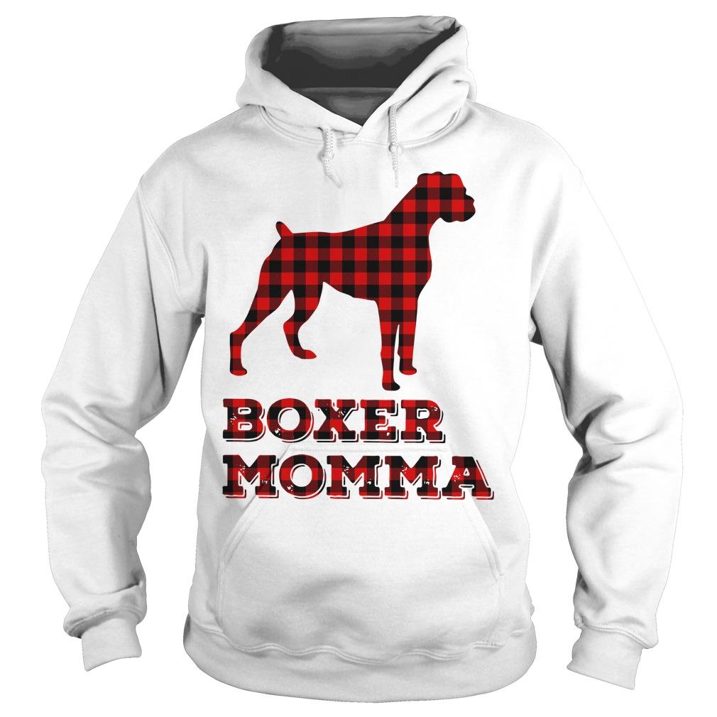 Pug Boxer Momma Hoodie